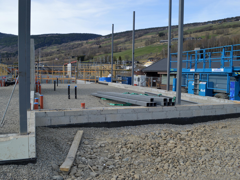 Sørheim Omsorgssenter grunn- og betongarbeid